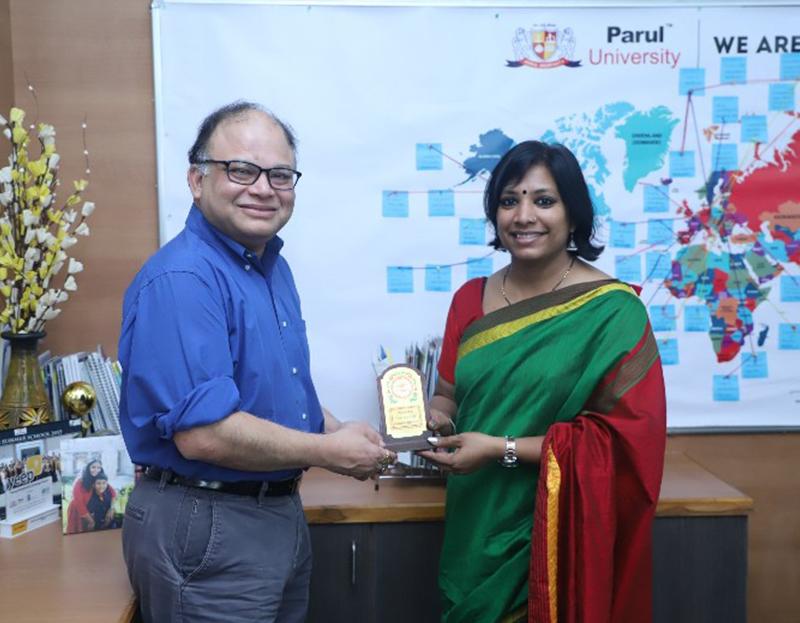 Visit of Dr. Shurva Das, Director of International Programs, University of Detroit Mercy, USA