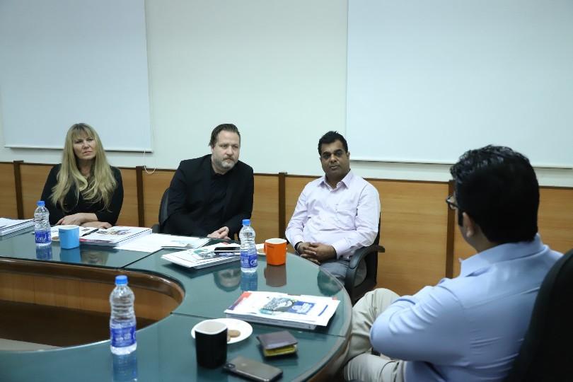Delegates from California Baptist University (CBU), USA visited Parul University