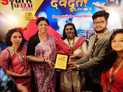 Devdoot Award For Flood Support - 2018